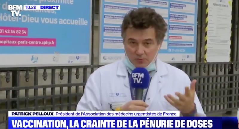 Incompétence du gouvernement: «Il y a un foutage de gueule envers la population»: pour Patrick Pelloux, «on n'est pas à l'abri d'émeutes pour se faire vacciner» (Vidéo)