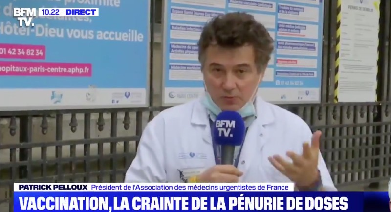 patrick pelloux pénurie de vaccin