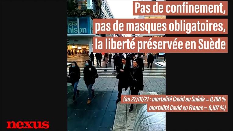 Les médias français mentent: Non il n'y a pas de catastrophe sanitaire en Suède. Reportage dans les rues de Stockholm sans confinement ni masque, avec le même taux de mortalité qu'en France mais 0 chômeurs… (Vidéo)