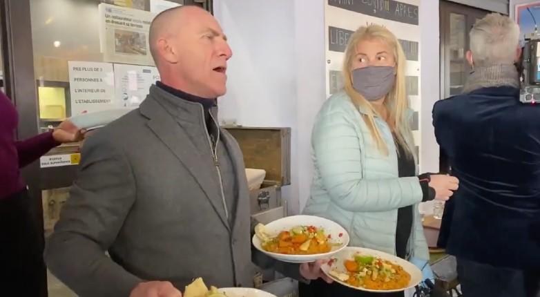 un restaurateur ouvre a Nice