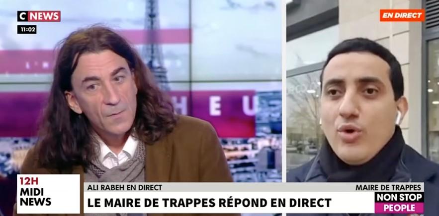 Ali Rabeh, maire de Trappes, va attaquer en justice prof menacé: «Il dit des mensonges et beaucoup d'informations grotesquement fausses» (Vidéo)