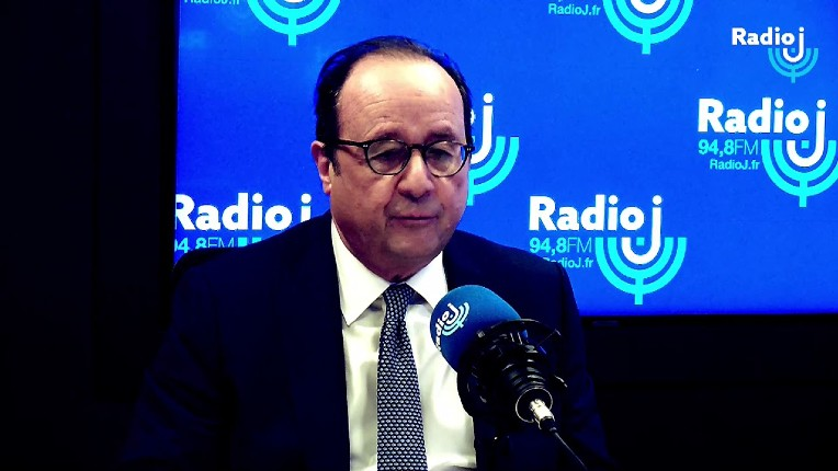 François Hollande sur Radio J