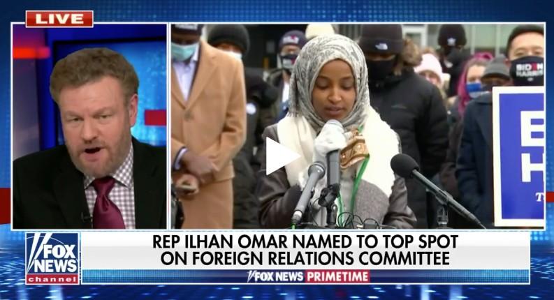 Etats Unis sous Biden: L'islamiste radicale antisémite Ilhan Omar nommée vice-présidente du sous-comité des affaires étrangères de la Chambre