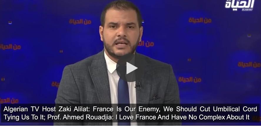 TV algérienne france ennemie