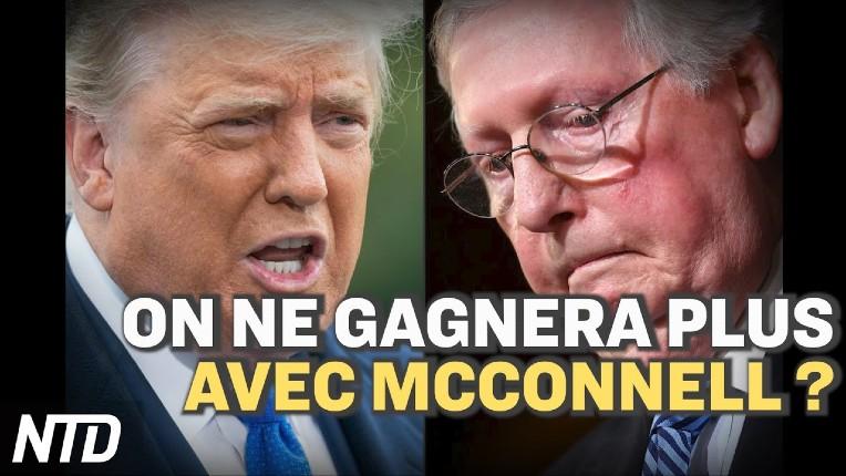 Trump: «Le parti républicain ne gagnera pas avec McConnell. Il doit démissionner de son poste de leader» (Vidéo)