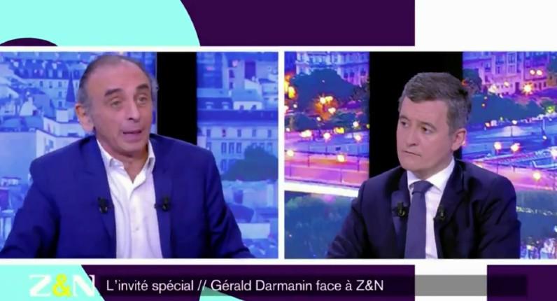 """Zemmour face à Darmanin : """"Vous refusez la discussion sur les moyens d'arrêter l'immigration, notamment via le regroupement familial… Il n'y a pas d'islamisme sans islam, et pas d'islam sans immigration"""" (Vidéo)"""