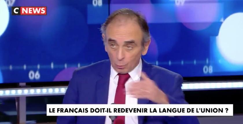 """Zemmour : """"Le virus nous a appris que ne pas respecter les frontières pouvait être mortel et bien je considère que l'invasion migratoire peut être mortelle pour les peuples européens"""" (Vidéo)"""