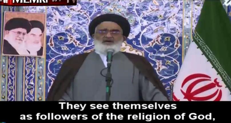 L'ayatollah Mohammad Saidi «Si juifs et chrétiens ne se soumettent pas aux ordres divins, les musulmans devront les combattre et les forcer à payer l'impôt de la Jizya»