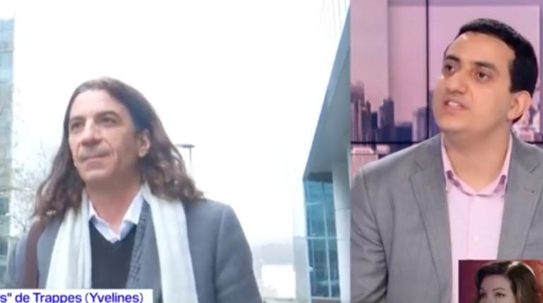 Islamisation: Le maire islamo-gauchiste de Trappes, Ali Rabeh, distribue des tracts contre le professeur menacé de mort Didier Lemaire (Vidéo)