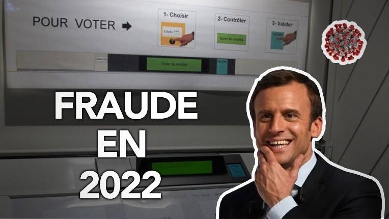 Présidentielle 2022: après le succès de la fraude aux USA, Macron veut imposer les machines à voter et le vote anticipé propices à la fraude… (Vidéo)