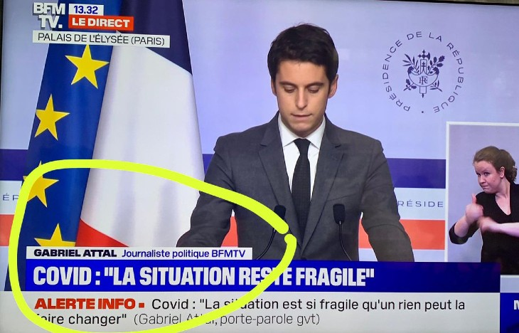 gabriel attal journaliste de BFM TV