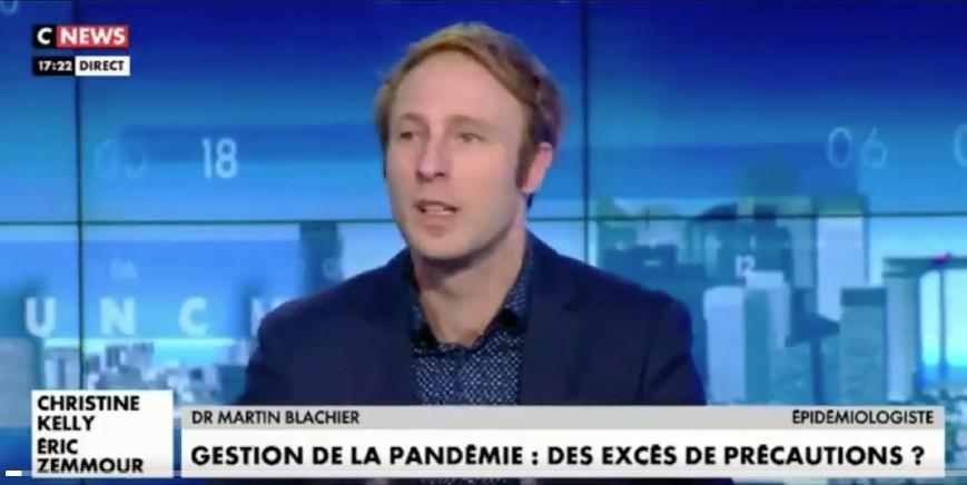 Même Martin Blachier est en train de comprendre « Jouer sur la peur pour garder le contrôle sanitaire de la population… il n'y a même plus de justification scientifique » (Vidéo)