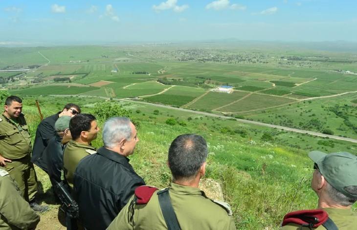 netanyahu plateau du Golan