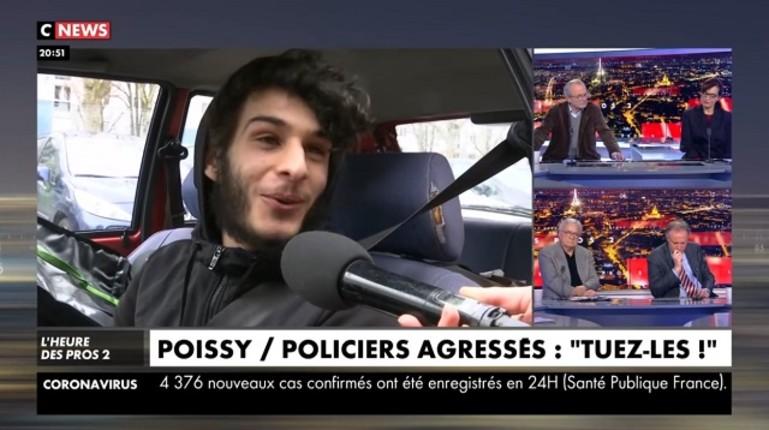Policiers attaqués à Poissy: « On ne peut pas répondre en les frappant, alors on leur tire dessus au mortier… c'est chez nous » (Vidéo)
