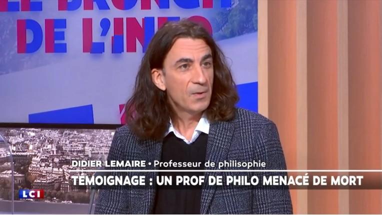 Didier Lemaire, prof de philo menacé de mort à Trappes: « Nous allons vers la guerre civile. Il faut que les Français se réveillent. Il y a des foyers islamistes partout. Ces jeunes vont passer à l'acte » (Vidéo)