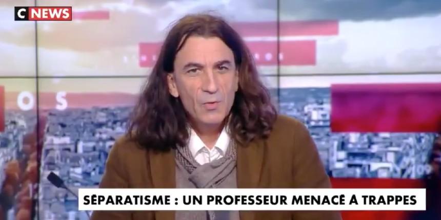 """Le prof menacé Didier Lemaire """"On a commencé par les Juifs, ensuite les Portugais, et maintenant ce sont les musulmans ordinaires qui s'en vont. La ville de Trappes c'est terminé, ils ont gagné"""" (Vidéo)"""