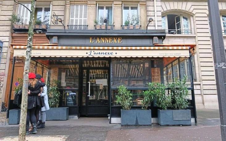 restaurant l Annexe à Paris