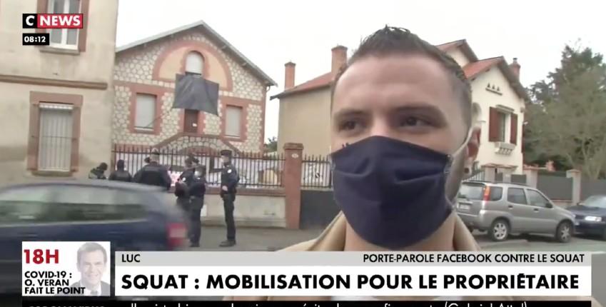 Colère des Toulousains : Roland 88 ans ne pourra pas reprendre sa maison, la justice de gauche et la police protègent les squatteurs (Vidéo)