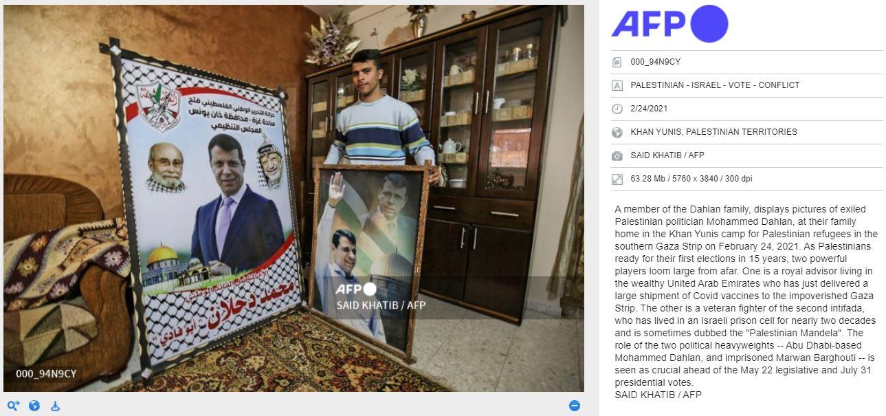 Propagande: l'AFP surnomme le terroriste Marwan Barghouti de «Mandela palestinien» omettant qu'il a été condamné pour cinq meurtres