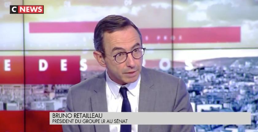 Bruno Retailleau Macron battu