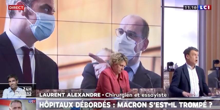 Vaccination: Selon Castex, la France va sortir «grandie». Laurent Alexandre «On croit rêver. On croirait une interview donné à la Pravda en 1965. Cette crise vaccinale rend le pouvoir fou. Le pire, c'est ce mensonge d'Etat. C'est un Waterloo vaccinal !» (Vidéo)