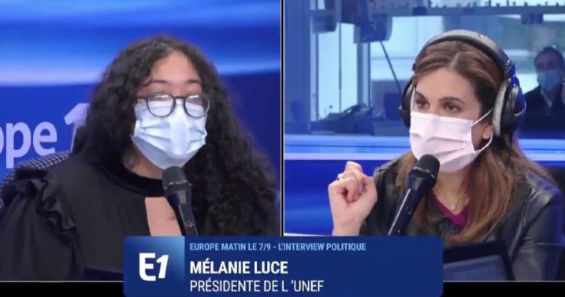 Mélanie Luce UNEF