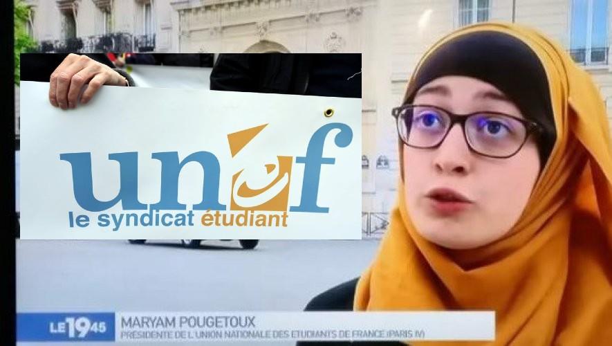 """Scandale à Science Po: le syndicat islamo-gauchiste UNEF diffuse les noms des deux enseignants accusés de """"propos islamophobes"""", les désignants comme cible aux islamistes ! #DissolutionUNEF"""