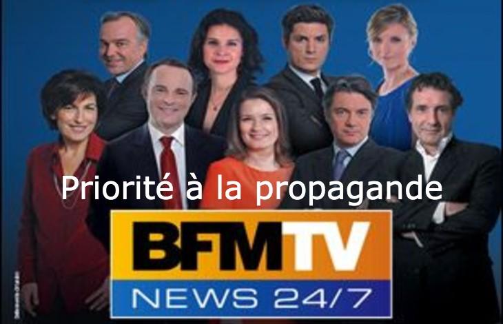 Une vingtaine de journalistes de la chaine macronienne BFMTV et ses médecins consultants surpris dans un restaurant clandestin à Paris, rapporte le Canard Enchainé