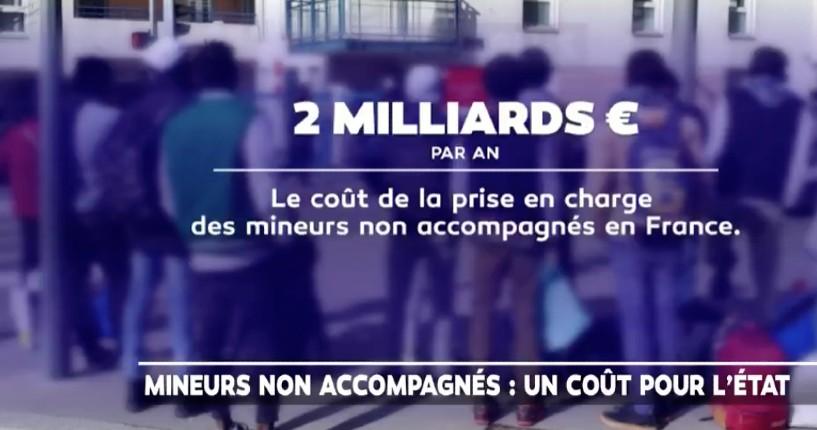 Migrants: Les migrants «mineurs» coutent 2 milliards d'euros par, 50 000 euros par migrant, «92% d'entre eux sont majeurs» (Vidéo)