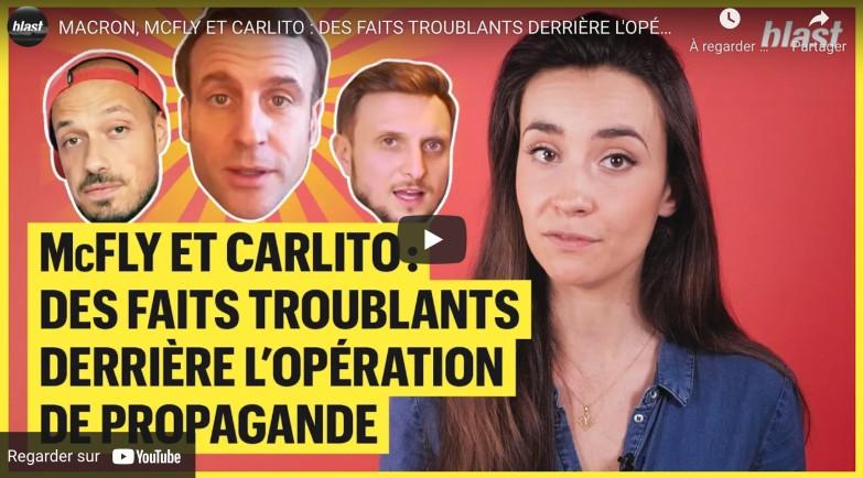 propagande Macron