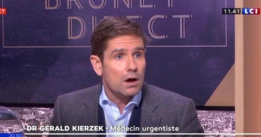 urgentiste Gérald Kierzek LCI