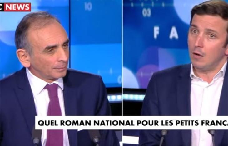 """Éric Zemmour à Aurélien Taché : """"Vous avez un destin de soumis ! Moi, je refuse de me soumettre. Les Français qui sont là depuis 1000 ans ont construit ce pays"""" (Vidéo)"""