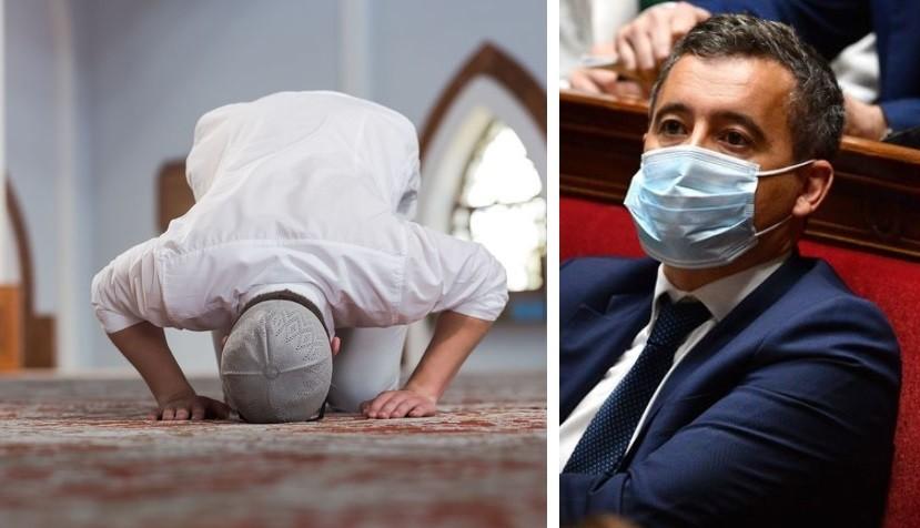 Gérald Darmanin accorde une « dérogation » aux musulmans de France, pour se rendre à la mosquée avant la fin du couvre-feu