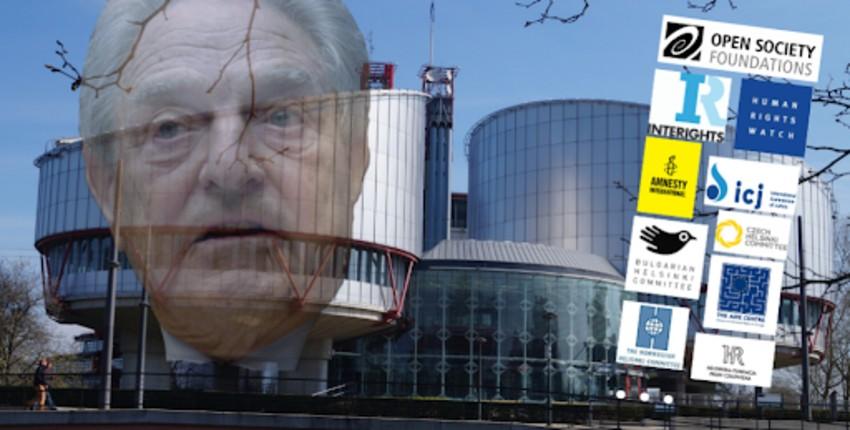 Révélations: Un rapport démontre que la Cour Européenne des droits de l'homme aurait au moins 12 juges liés a Georges Soros… Inquiétant