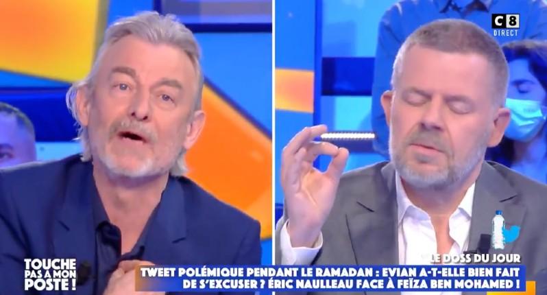 Gilles Verdez est «un idiot utile de l'islamisme» estime Eric Naulleau pour oser accuser Evian d'avoir volontairement provoqué les musulmans (Vidéo)
