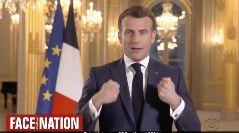 Macron sur CBS: «Nous devons déconstruire notre propre histoire», le projet macronien réécrire l'histoire au nom de la repentance et d'un prétendu racisme colonial imaginaire ! (Vidéo)