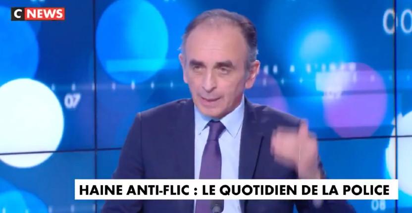 Eric Zemmour « Il faut arrêter de parler de violences urbaines, c'est une guérilla contre la France. C'est-à-dire une guerre contre un pouvoir en place. Ce sont des bandes africaines et maghrébines qui se rebellent contre l'Etat central » (Vidéo)