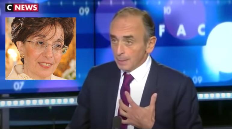 Zemmour à propos de Sarah Halimi : « Quand on jette un chien par la fenêtre, on prend un an de prison. Quand on jette une femme par la fenêtre on ne fait pas de prison et on est excusé par des raisons psychiatriques »