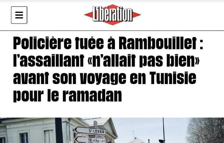 Attaque islamiste de Rambouillet: L'AFP, Libé, Médiapart, quand la presse léche-babouches cherche des circonstances atténuantes voire des «troubles psychiatriques»