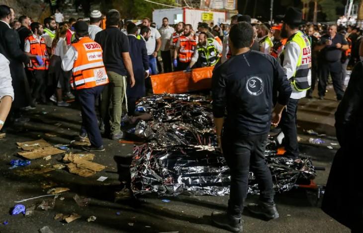 Catastrophe en Israël: au moins 44 morts au pèlerinage de Lag Baomer sur le Mont Méron, «une des plus grandes catastrophes de l'histoire d'Israël» (Vidéo)
