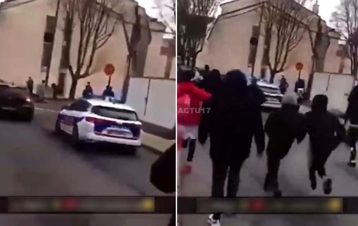 « Wallah, n*quez-les leurs mères ! Ya zebi », les policiers agressés par une centaine de jeunes racaille «chances pour la France», à Étampes (Vidéo)