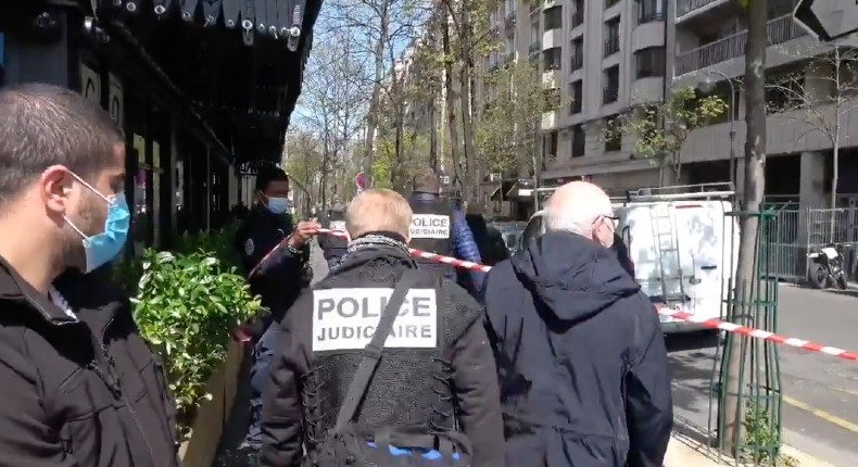 Alerte info: Fusillade en plein Paris, un mort et une femme blessée par balles devant un hôpital du XVIe arrondissement (Vidéo)