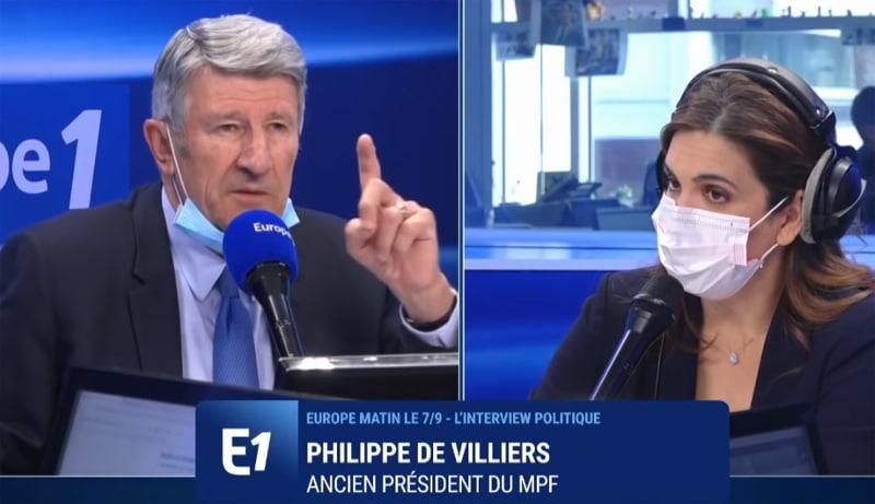 Philippe de Villiers «Nous sommes face à un problème d'invasion et de colonisation de peuplement. Macron nous mène à la guerre civile !» (Vidéo)