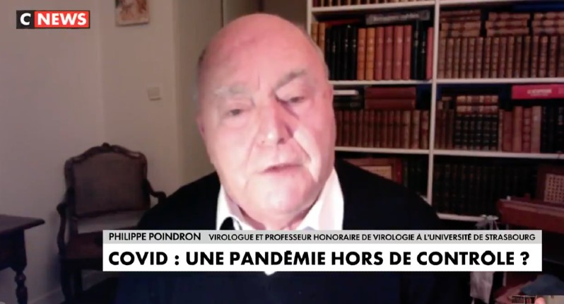 Le Pr Philippe Poindron virologue «L'hydroxychloroquine diminue la mortalité… Mais il y a derrière tout ça des intérêts financiers considérables. Il faut avoir un peu d'éthique et de moral. On a jamais fait d'essai en double aveugle contre le Sida ça aurait été immoral» (Vidéo)