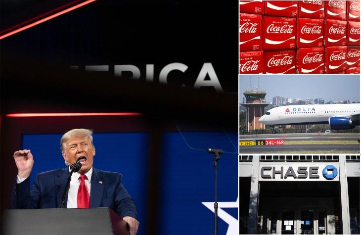 États-Unis : Trump appelle à boycotter une série d'entreprises politisées à gauche. 70 % des Américains sont opposés aux entreprises et équipes sportives «politisées»