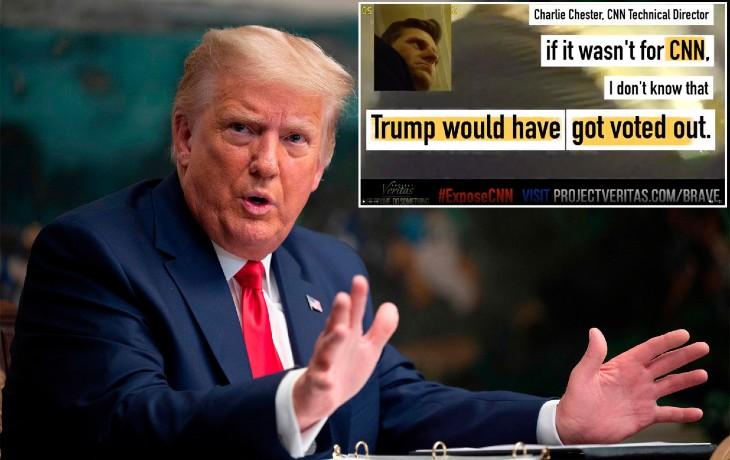 Révélations: Filmé en secret, un dirigeant de CNN avoue que la chaîne a fait de la propagande et menti pour « virer Trump par tous les moyens » (Vidéo)