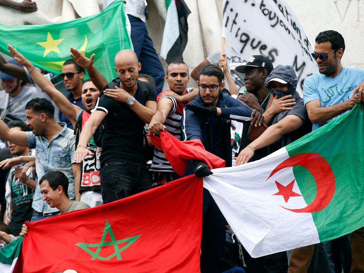 Des arabes pro-palestiniens veulent brûler la France pour célébrer le jour dela Naqba
