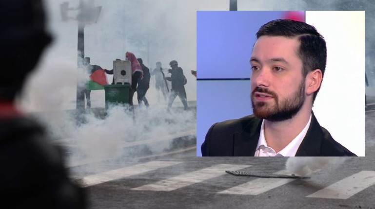 «A mort Israël ! Allah Akbar !» hurlé en plein Paris par les islamistes et les racailles. Mais l'islamo-gauchiste insoumis David Guiraud n'a rien entendu.. la preuve en vidéo
