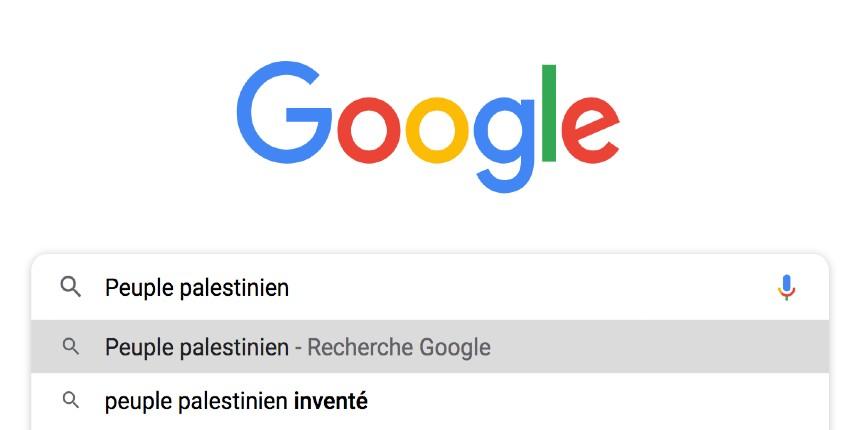 Google démontre de manière incontestable que le «peuple palestinien» a été inventé dans les années 60