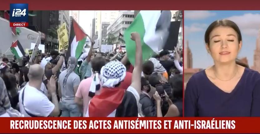 New York: recrudescence des actes antisémites violents perpétrés par des Arabes pro-palestiniens (Vidéo)